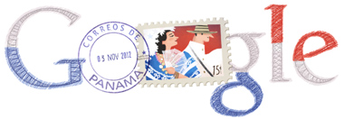 Google Doodle Panama Independence Day 2012