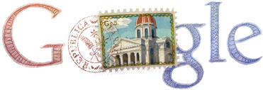 Google Doodle Paraguay Independence Day 2012