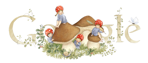 Elsa Beskow's 139th Birthday
