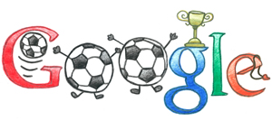 google doodle world cup 2010