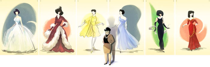 Edith Head's 116th Birthday (1897.10.28 - 1984.10.24) : Selected Countries
