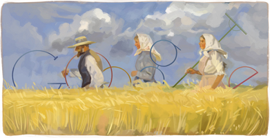 Anna Ancher's 155th Birthday