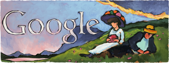 Gabriele Münter's 137th Birthday