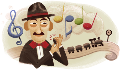 Adoniran Barbosa's 105th Birthday