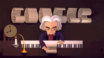 Doodle de Beethoven
