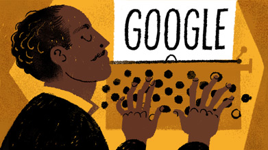Langston Hughes� 113th Birthday