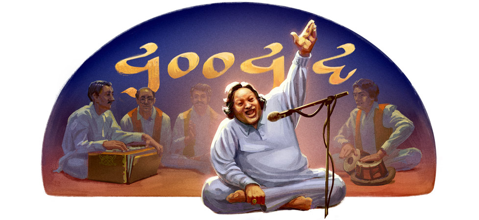Nusrat Fateh Ali Khan's 67th Birthday