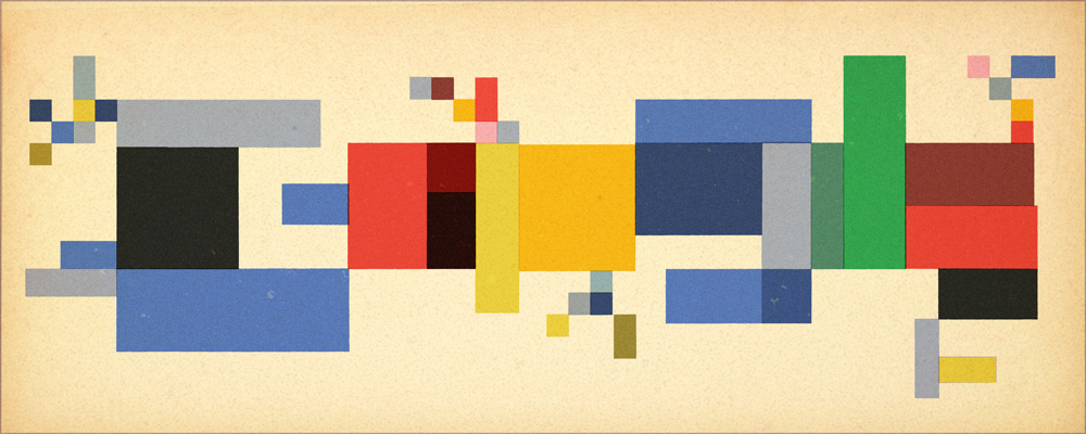 Sophie Taeuber-Arp Google Doodle