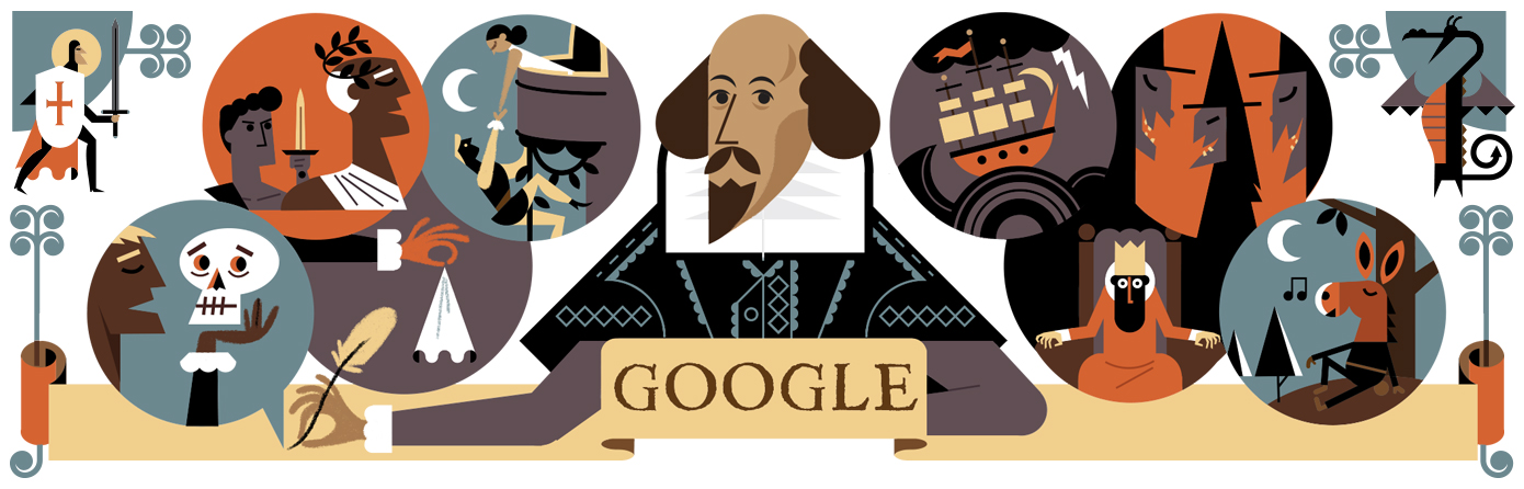 Celebrating William Shakespeare and St. George's Day 2016