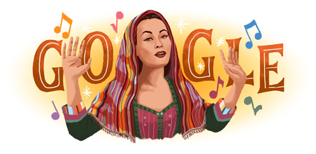 Yma Sumac's 94th birthday