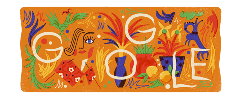 Natalia Goncharova's 136th Birthday