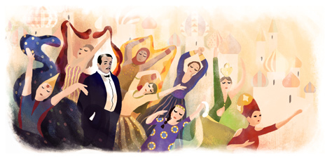 Sergei Diaghilev's 145th Birthday