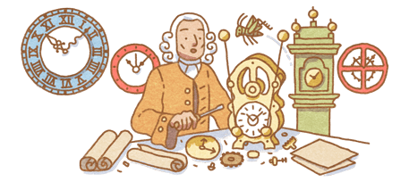 John Harrison's 325th Birthday