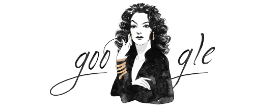 María Félix's 104th Birthday