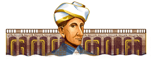 Sir Mokshagundam Visvesvaraya's 158th Birthday