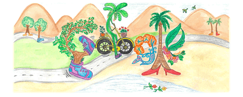 Doodle for Google 2019 - India Winner