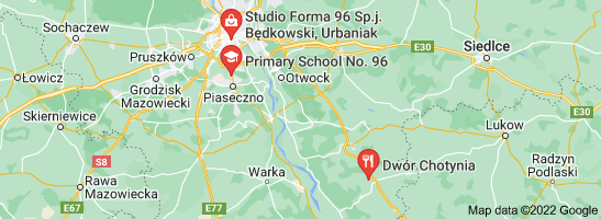 Map of                                96