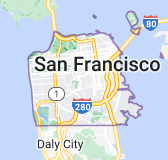 Map for San Francisco