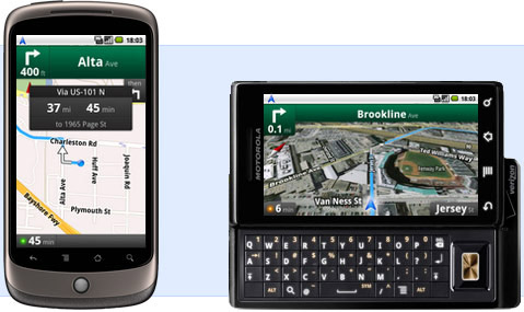 Free Android Sat Nav
