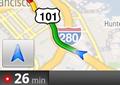 Navigation mittels Google