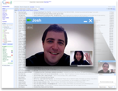 GMail video-chat