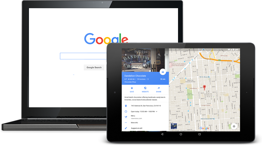 Make it easy for customers to find you across Google's different services