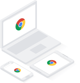Chrome works on all devices - Chromebook, Pixel, and desktop.