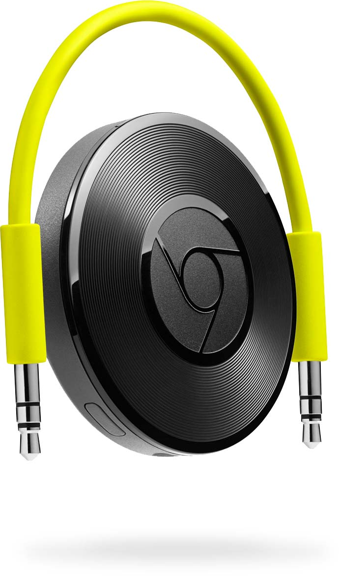 Google Chromecast audio Buy-now