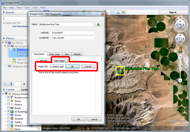 Google Earth Pro Tutorials Edit Placemaker