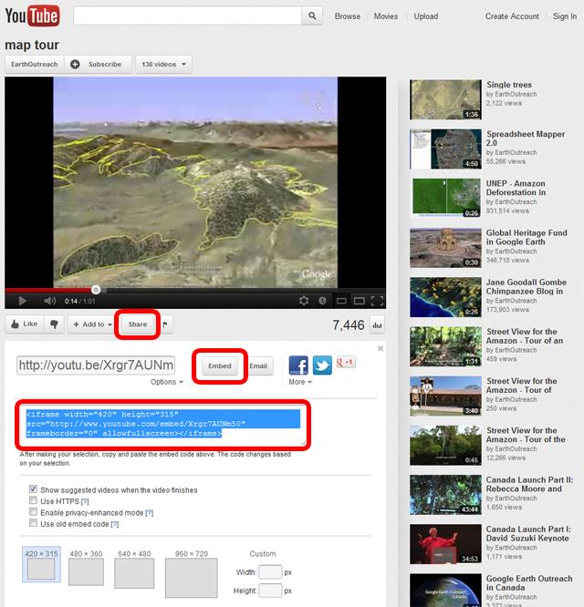 Google Earth Pro Tutorials video youtube