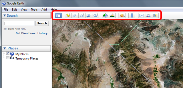 Google Earth tools