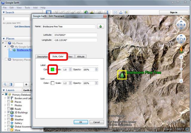 How to add images on google earth