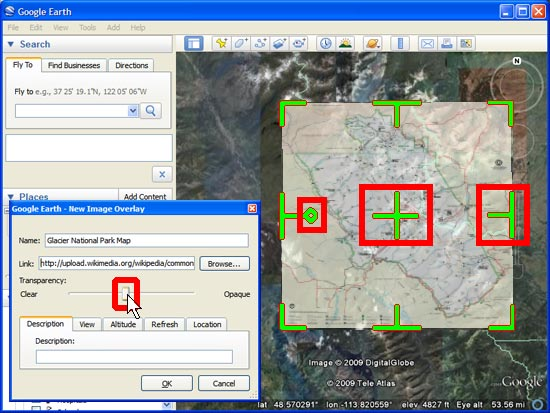 Creating Photos & Image Overlays in Google Earth – Google