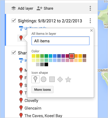 Visualize Your Data On A Custom Map Using Google My Maps Google - Colors in google maps