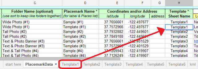 Spreadsheet Mapper Version 2 Used A Unique Name Defined In Each Template But 3 We Just Use The Sheet Names