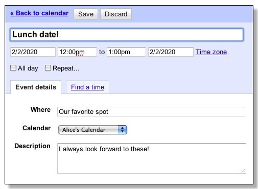 how to repeat a calender every week