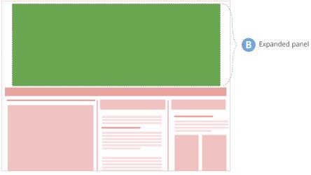doubleclick rich media templates - descripci n general de las creatividades pushdown ayuda