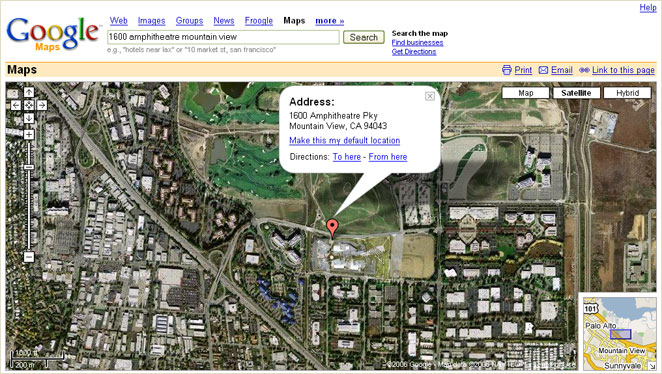 Simon Chapman's Blog: Google Maps adds satellite view on nintendo headquarters map, microsoft corporate headquarters map, facebook headquarters map, apple headquarters map, cia headquarters map, oracle headquarters map, allstate headquarters map, symantec headquarters map, qualcomm headquarters map, groupon headquarters map, nasa headquarters map, sony headquarters map, walmart headquarters map, google earth florida usa, nike headquarters map, google corporate office, 3m headquarters map, dell headquarters map, epic headquarters map,