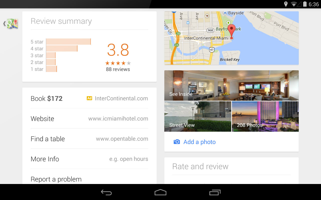 Google Instant Booking Hotel