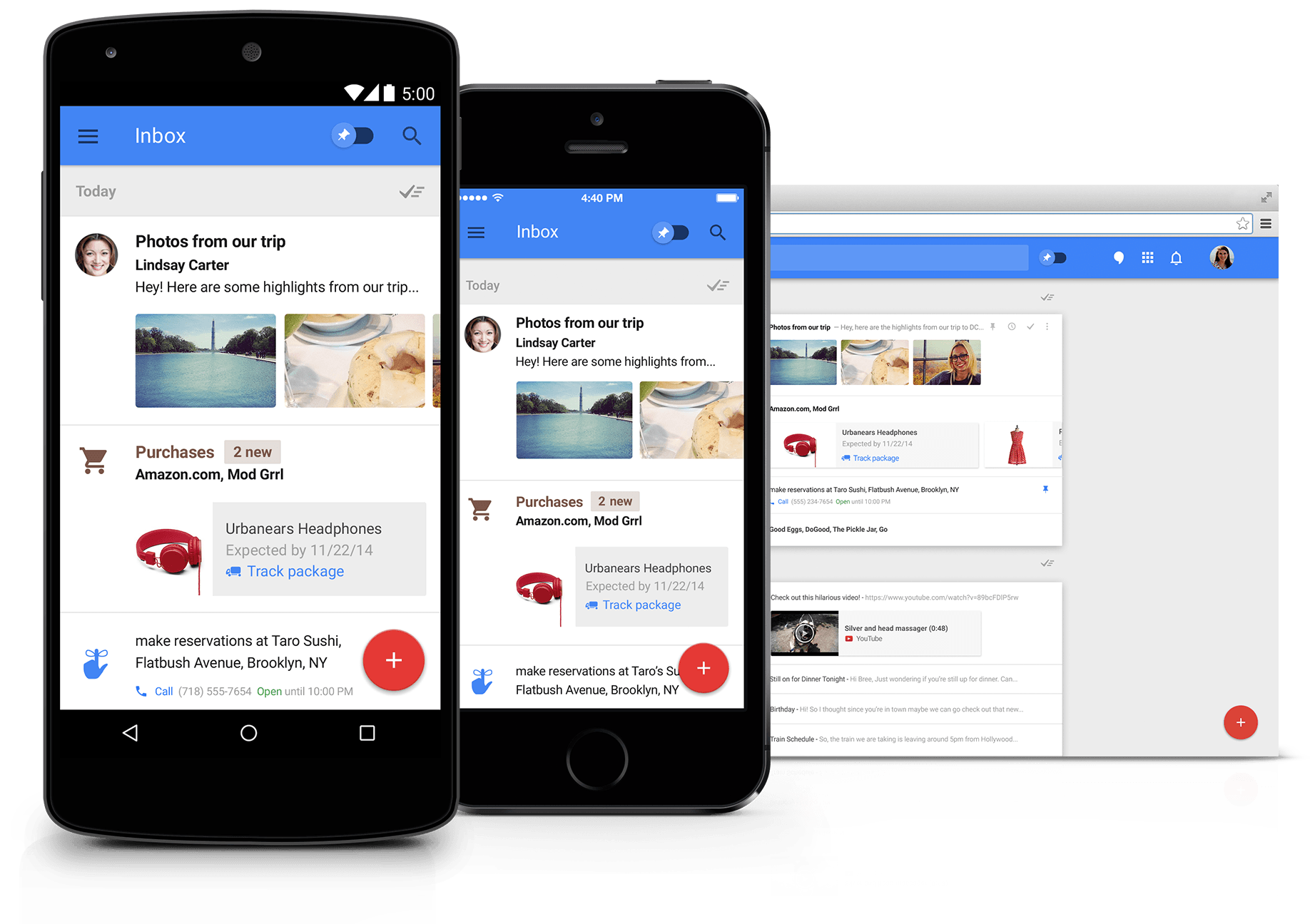 Inbox от Gmail – больше, чем почта