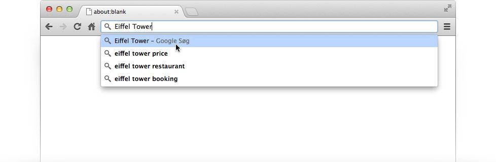 gør google til min startside