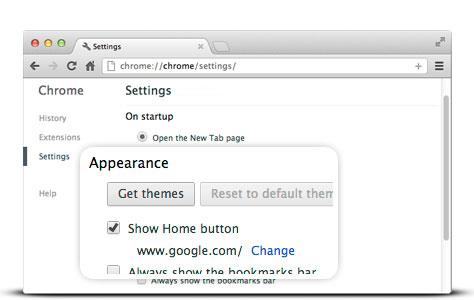Make Google your homepage – Google