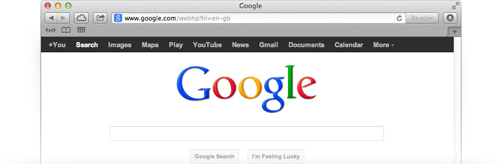 how to set google search as homepage