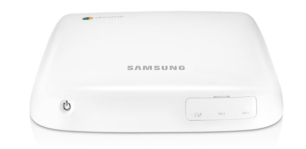 A coincidence, I'm sure, but Samsung's Chromebox looks kind of ...