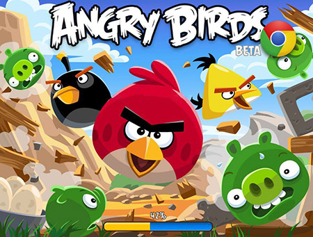 Angry Birds in Chrome!