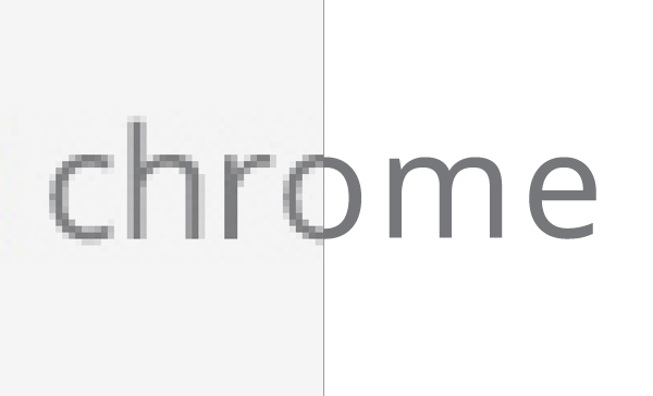 Chrome gets shinier on hi-res screens