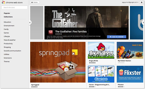 Chrome Web Store gets a new storefront design