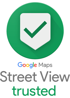 Google Street View - Trusted badge