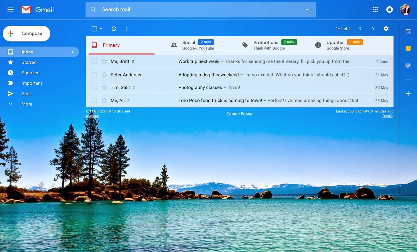 Gmail theme image size - Custom Themes Custom Themes Custom Themes Custom Themes