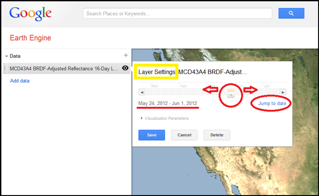 Google earth outreach adjusting the layer settings sciox Images